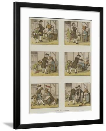 Tale of a Goose-Amedee Forestier-Framed Giclee Print