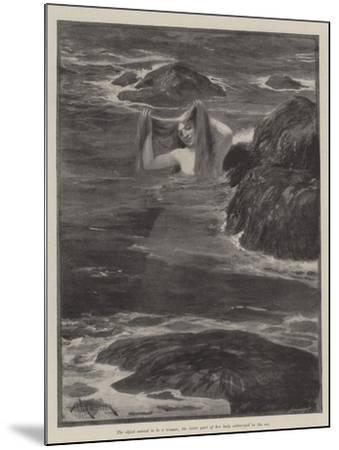 The Mermaid of Lighthouse Point-Amedee Forestier-Mounted Giclee Print