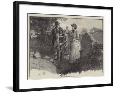 To Call Her Mine-Amedee Forestier-Framed Giclee Print