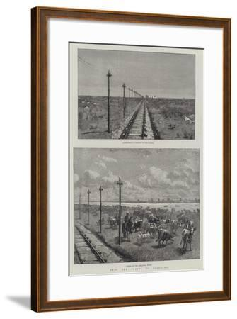 Over the Plains to Colourado-Amedee Forestier-Framed Giclee Print
