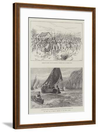 The Rent War in Ireland-Amedee Forestier-Framed Giclee Print