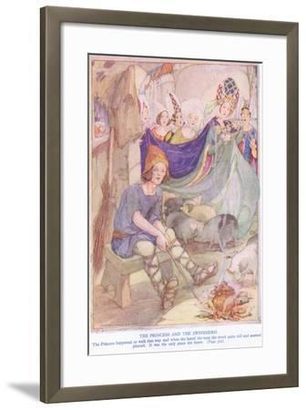 The Princess and the Swineherd-Anne Anderson-Framed Giclee Print