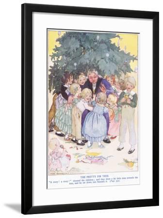 The Pretty Fir Tree-Anne Anderson-Framed Giclee Print