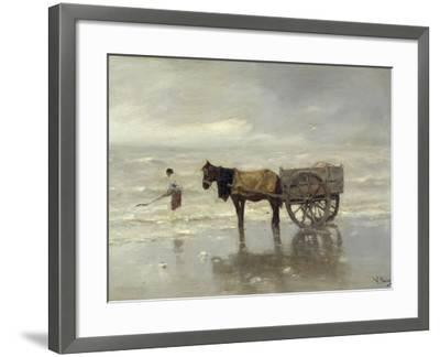 The Collection at Goemon-Anton Mauve-Framed Giclee Print