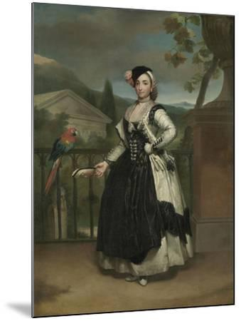 Portrait of Isabel Parreno Arce And, Marquesa De Llano, C.1771-2-Anton Raphael Mengs-Mounted Giclee Print