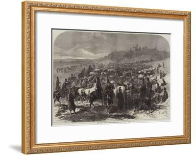 The War, Captured French Horses after the Battle of Sedan-Arthur Hopkins-Framed Giclee Print