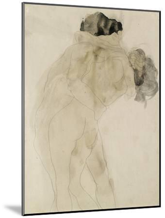 Two Embracing Figures-Auguste Rodin-Mounted Giclee Print