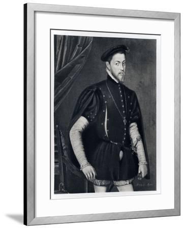 Philip II of Spain-Anthonis van Dashorst Mor-Framed Giclee Print