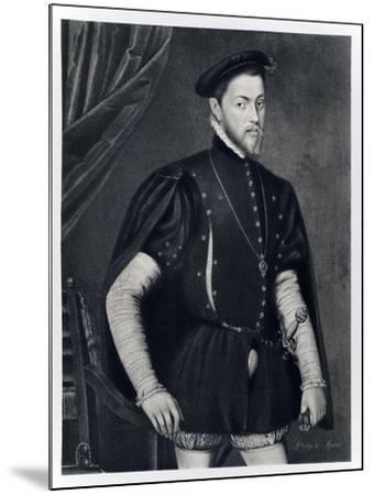 Philip II of Spain-Anthonis van Dashorst Mor-Mounted Giclee Print