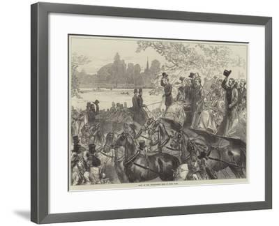 Meet of the Four-In-Hand Club in Hyde Park-Arthur Hopkins-Framed Giclee Print