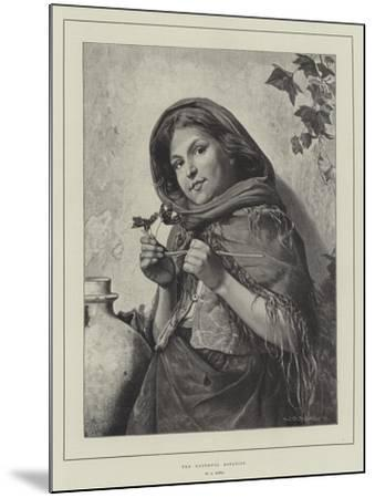 The Youthful Botanist-Antonio Rotta-Mounted Giclee Print
