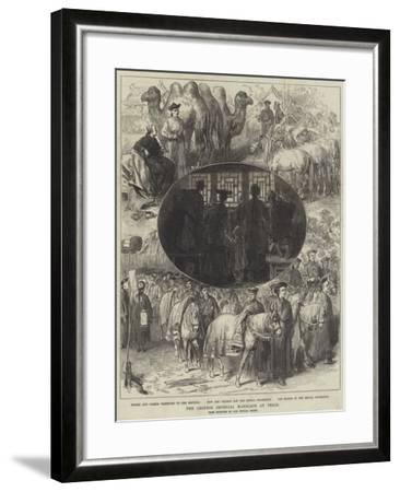The Chinese Imperial Marriage at Pekin-Arthur Hopkins-Framed Giclee Print