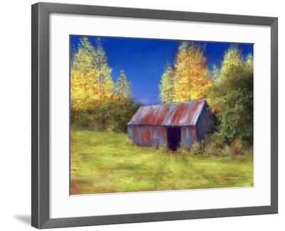 The Old Tin Shack, 2010-Anthony Rule-Framed Giclee Print