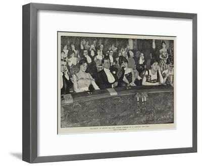 Tragedy, a Study of the Dress Circle in a London Theatre-Arthur Paine Garratt-Framed Giclee Print