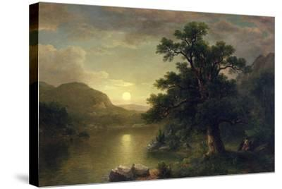 The Trysting Tree, 1868-Asher Brown Durand-Stretched Canvas Print