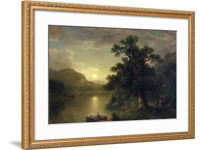 The Trysting Tree, 1868-Asher Brown Durand-Framed Giclee Print