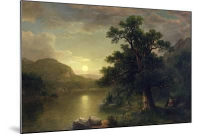 The Trysting Tree, 1868-Asher Brown Durand-Mounted Giclee Print