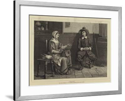Angling-Arthur C. H. Luxmoore-Framed Giclee Print