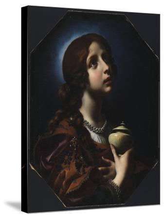 The Penitent Magdalene, C.1650-51-Carlo Dolci-Stretched Canvas Print