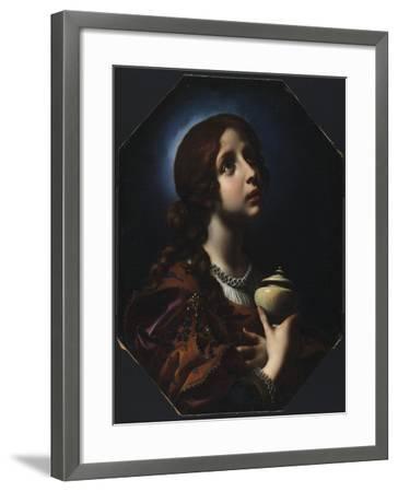The Penitent Magdalene, C.1650-51-Carlo Dolci-Framed Giclee Print