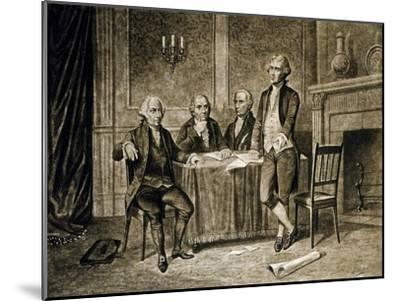 Leaders of the First Continental Congress, 1774, Published C.1894-Augustus Tholey-Mounted Giclee Print