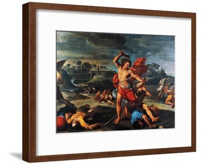 Samson Slaying Philistines-Aureliano Milani-Framed Giclee Print