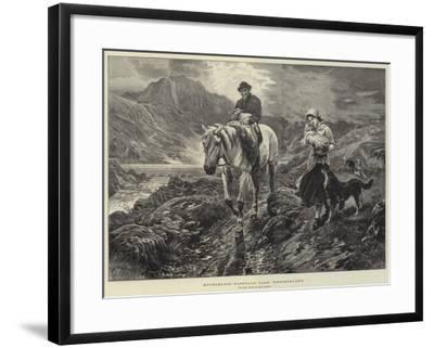 Motherless, Easedale Tarn, Westmorland-Basil Bradley-Framed Giclee Print