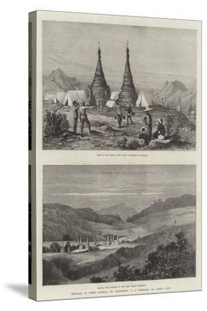Sketches in Upper Burmah-Charles Auguste Loye-Stretched Canvas Print