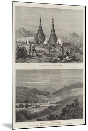 Sketches in Upper Burmah-Charles Auguste Loye-Mounted Giclee Print
