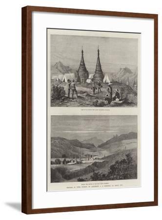 Sketches in Upper Burmah-Charles Auguste Loye-Framed Giclee Print