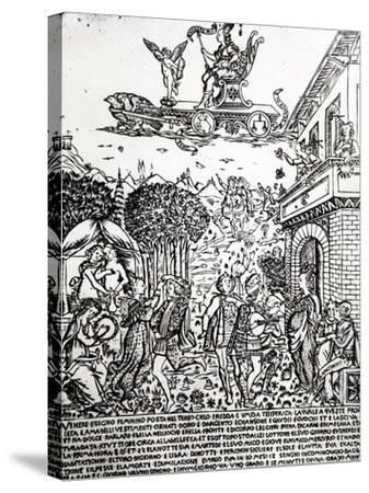 Venus, C.1464-Baccio Baldini-Stretched Canvas Print