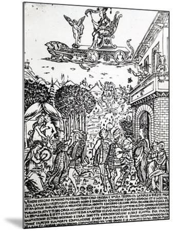 Venus, C.1464-Baccio Baldini-Mounted Giclee Print