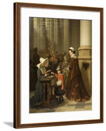 For the Sick Poor-Basile De Loose-Framed Giclee Print