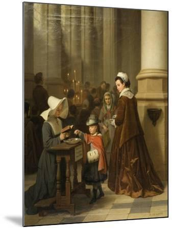 For the Sick Poor-Basile De Loose-Mounted Giclee Print