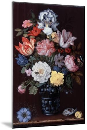 Floral Still Life with Shells, 1622-Balthasar van der Ast-Mounted Giclee Print