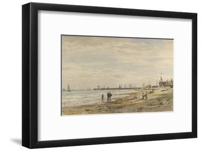 Ramsgate Pier, August 1838-Caroline Davidson-Framed Giclee Print
