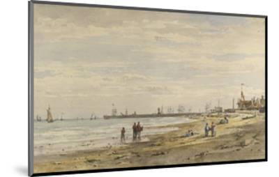 Ramsgate Pier, August 1838-Caroline Davidson-Mounted Giclee Print