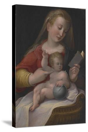 Madonna and Child, C.1580-85-Barbara Longhi-Stretched Canvas Print