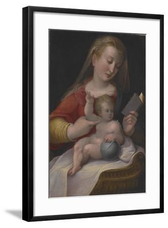 Madonna and Child, C.1580-85-Barbara Longhi-Framed Giclee Print