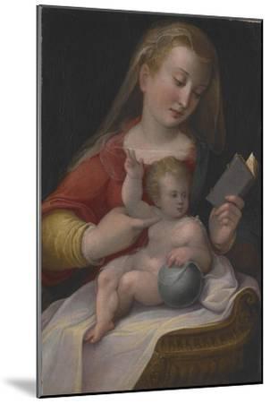 Madonna and Child, C.1580-85-Barbara Longhi-Mounted Giclee Print