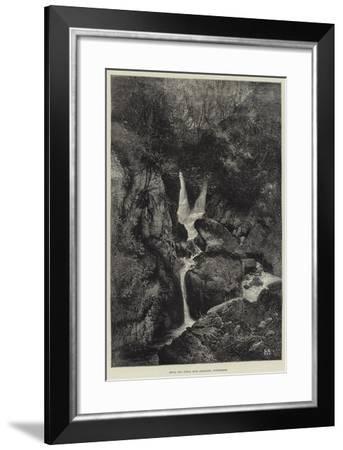 Stock Gill Force, Near Ambleside, Windermere-Charles Auguste Loye-Framed Giclee Print