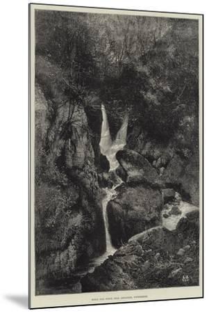 Stock Gill Force, Near Ambleside, Windermere-Charles Auguste Loye-Mounted Giclee Print