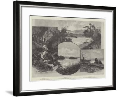 The Duke and Duchess of York in Ireland-Charles Auguste Loye-Framed Giclee Print