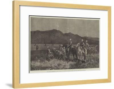 The French Expedition to Tunis-Charles Auguste Loye-Framed Giclee Print