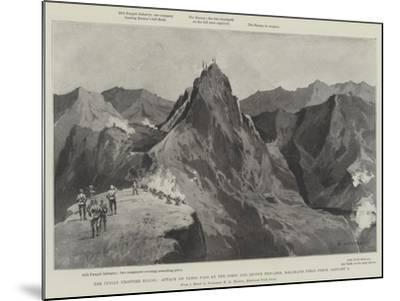 The Indian Frontier Rising-Charles Auguste Loye-Mounted Giclee Print