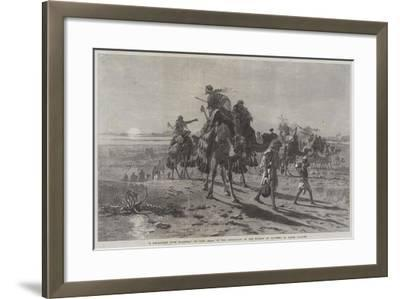 A Departure from Palmyra-Carl Haag-Framed Giclee Print