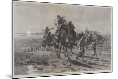 A Departure from Palmyra-Carl Haag-Mounted Giclee Print