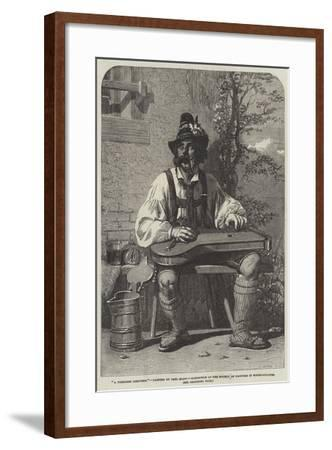 A Tyrolese Composer-Carl Haag-Framed Giclee Print