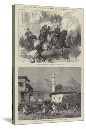 Sketches of the War in Asia-Charles Auguste Loye-Stretched Canvas Print