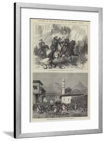 Sketches of the War in Asia-Charles Auguste Loye-Framed Giclee Print